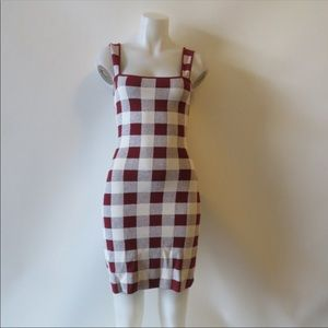 Styling Maroon Plaid Dress by Theory !